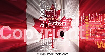 Flag of Canada wavy copyright law - Flag of Canada, national...