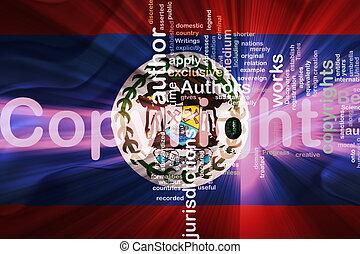Flag of Belize wavy copyright law - Flag of Belize, national...