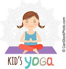 Kid yoga logo