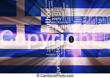 Flag of Greece wavy copyright law - Flag of Greece, national...