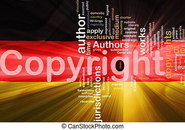 Flag of Germany wavy copyright law - Flag of Germany,...