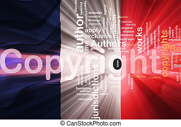 Flag of France wavy copyright law - Flag of France, national...