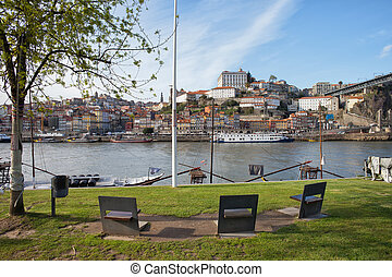 City of Porto in Portugal Skyline - City of Porto in...