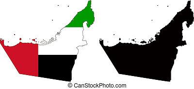 unido, árabe, emiratos