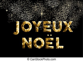 Merry christmas french joyeux noel france country - Merry...