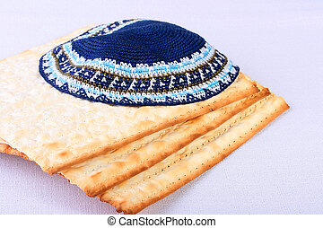 Skullcap - The Jewish theme, skullcap - a headdress and...