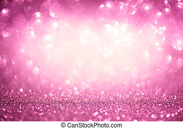 Valentine shiny abstract pink background - StValentines...