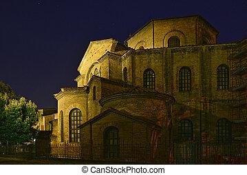 Particolare Basilica di San Vitale - Foto scattata prima...