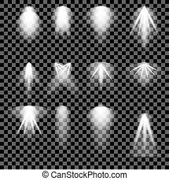Concert Lighting. Stage Spotlights Background