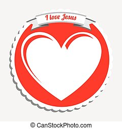 i love jesus design