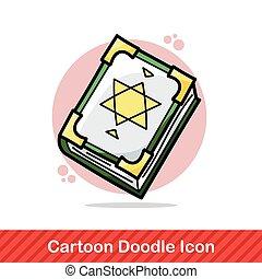 magic book doodle