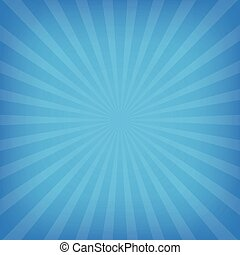 blue color with sun  rays background
