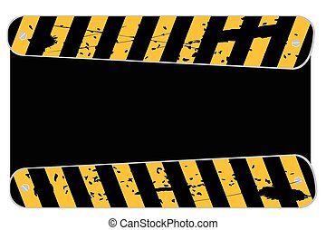 Blank Traffic Sign - Vector Blank Traffic Sign