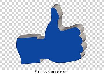 Thumb Up - Vector Thumb Up