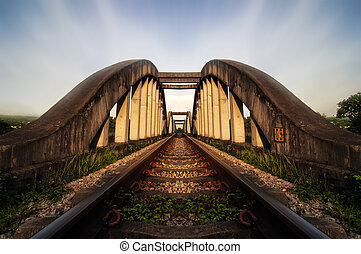Railway Bridge - The Pulau Indah Expressway, Federal Route...