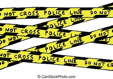 Police Line - Vector Police Line