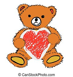 Greeting Card - Teddy Bear