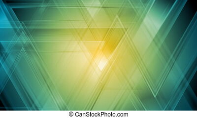 Bright abstract triangles video animation - Bright abstract...