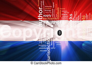 Flag of Luxenbourg wavy copyright law - Flag of Luxenbourg,...