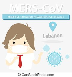 Mers-CoV Middle East respiratory syndrome coronavirus,...