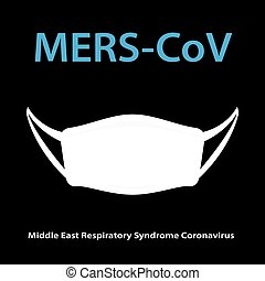 Mers-CoV Middle East respiratory syndrome coronavirus with...