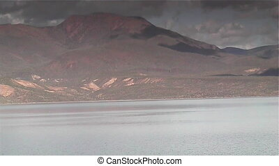 Lake Storm - Storm approaching Roosevelt Lake