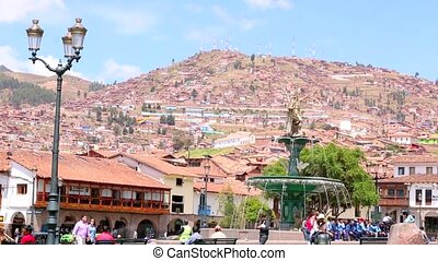 Cuzco, Peru. UNESCO World Heritage Site.