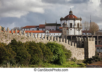 Muralhas Fernandinas and Serra do Pilar in Porto -...