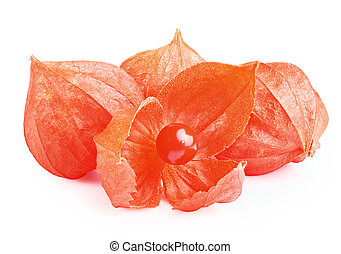 Gooseberry Physalis fruit - Close up of cape Gooseberry or...