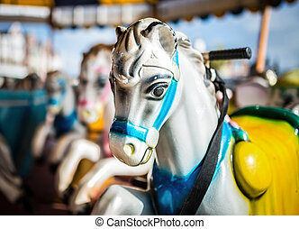 Generic fairground horses