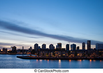 City Skyline of Rotterdam
