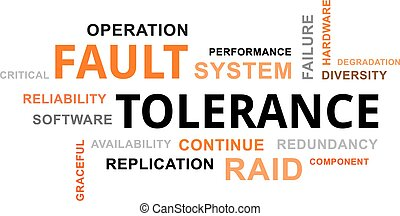 word cloud - fault tolerance - A word cloud of fault...