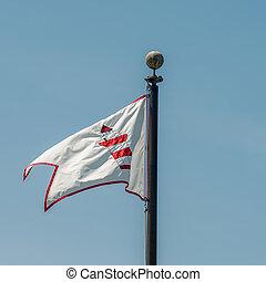 hilton head harbor town lighthouse flag