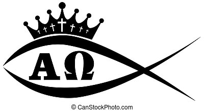 Fisch - A fish with a crown