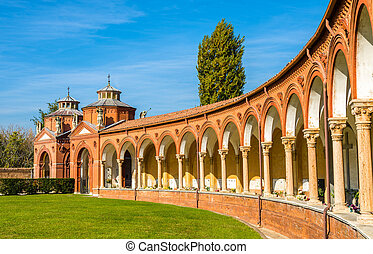 The Monumental Cemetery of Certosa - Ferrara, Italy