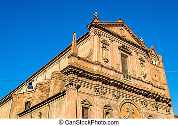 San Domenico church in Ferrara - Italy
