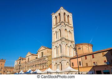 Basilica Cattedrale di San Giorgio in Ferrara, Italy