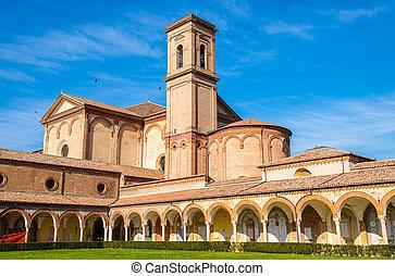 San Cristoforo alla Certosa church in Ferrara - Italy