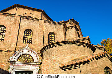 The Basilica of San Vitale in Ravenna, Italy
