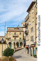 Buildings in the city of San Marino