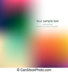 Abstract colorful background with place for your text