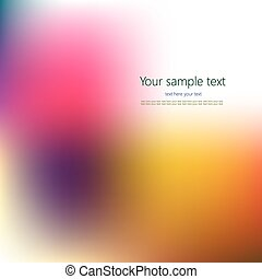 - Abstract colorful background with place for your text...
