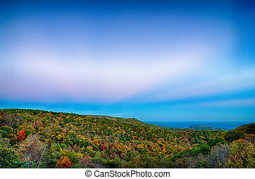 Scenic Blue Ridge Parkway Appalachians Smoky Mountains...