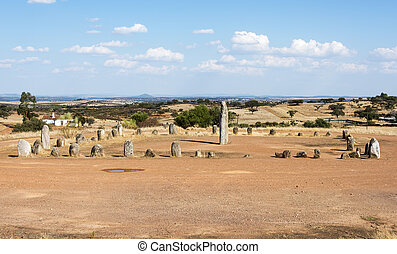 Menhir stones in Portugal - Portugals largest menhirs, the...