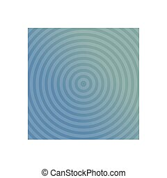 Blue background design with concentric circles