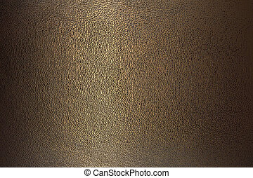 bronze color leather - texture bronze color leather close-up...