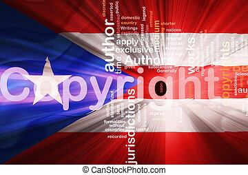 Flag of Puerto Rico wavy copyright law - Flag of Puerto...