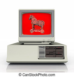 Trojan horse Stock Illustrations. 905 Trojan horse clip ...