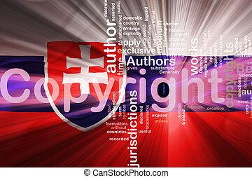 Flag of Slovakia wavy copyright law - Flag of Slovakia,...