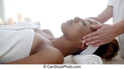 Cosmetic Treatment At The Health Spa - Professional massage...